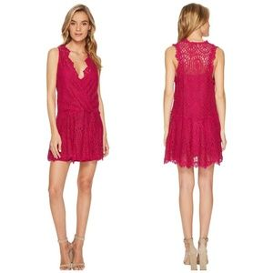 NWT Free People Lace Mini Dress